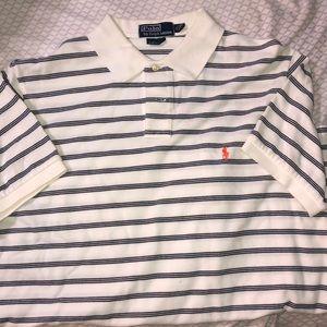 Stripped polo shirt